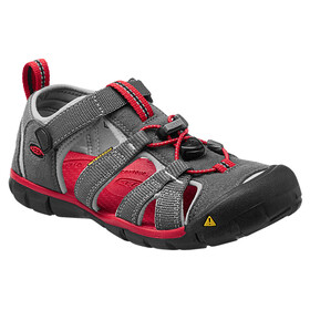 Keen Seacamp II CNX Sandals Children grey/red